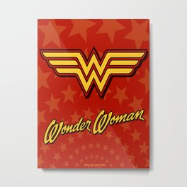 Wonder Women Metal Print
