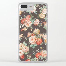 elise shabby chic Clear iPhone Case