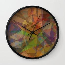 Technical Geomeric Construction Wall Clock