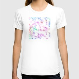 Saltwater Taffy Colored Marble Pattern T-shirt