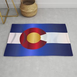 State Flag Of Colorado Rug
