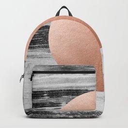 rose gold #1 Backpack