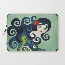 Aquamarine Mermaid Laptop Sleeve
