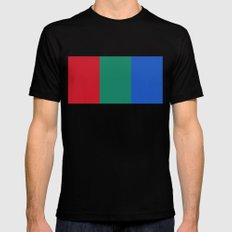 Flag of Mars - High quality authentic version Mens Fitted Tee Black MEDIUM