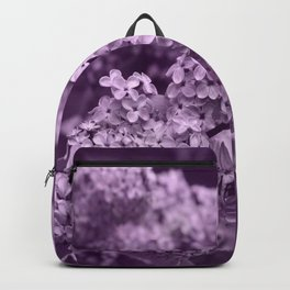 Pretty Lilac in the Spring Backpack