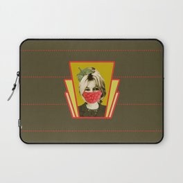 i guess she is a vegan Laptop Sleeve