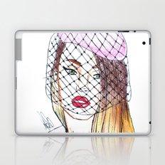 French Girl Laptop & iPad Skin