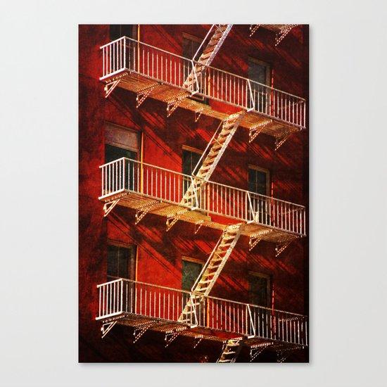 York Avenue 10021  Canvas Print