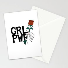 GRL PWR Rose Stationery Cards