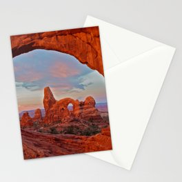 Arches National Park - Turret Arch Stationery Cards