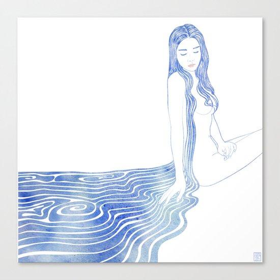 Water Nymph XCV Canvas Print
