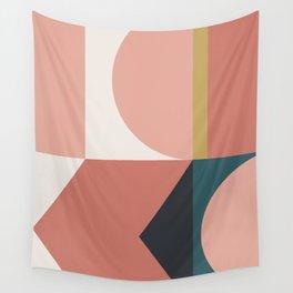 Maximalist Geometric 02 Wall Tapestry