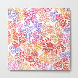 Flowers Abound Metal Print