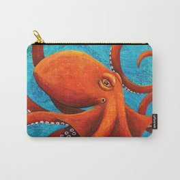 Holding On - Octopus Carry-All Pouch