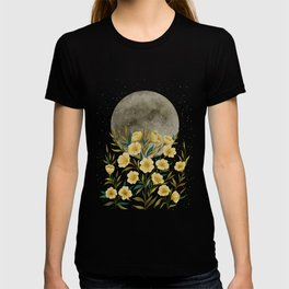 Greeting the Moon - Evening Primrose T-shirt