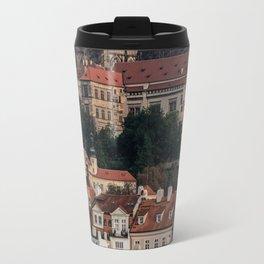 Sunny day in Prague Travel Mug