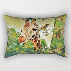 A Bit of Attitude Rectangular Pillow