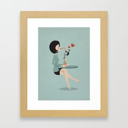GO and GET it Framed Art Print