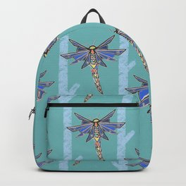 Dragonflies with Trees Pattern 2 Backpack