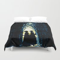 wonderland Duvet Covers featuring Wonderland by Design4u Studio