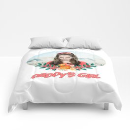 daddy's girl Comforters