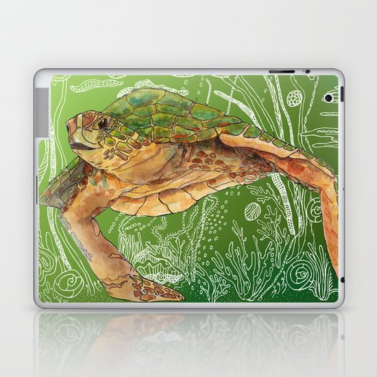 Shelley II Laptop & iPad Skin