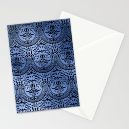 Classic Blue Swirls 16 Stationery Cards