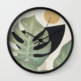 Elegant Shapes 16 Wall Clock