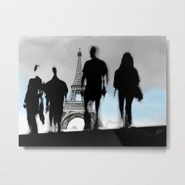 Les Parisiennes Metal Print
