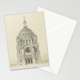 Church of St. Augustine Paris Stationery Cards