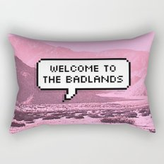 Welcome to the Badlands Rectangular Pillow