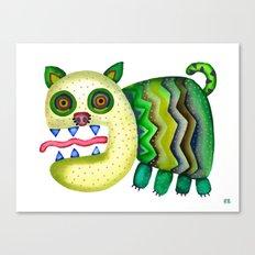 Screaming Kitty Canvas Print