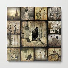 Gothic Squares Metal Print