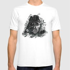 Requiem for a Skywalker MEDIUM White Mens Fitted Tee