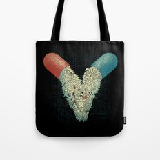 Capsuled Nightmare Tote Bag