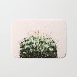 Cactus on pink Bath Mat