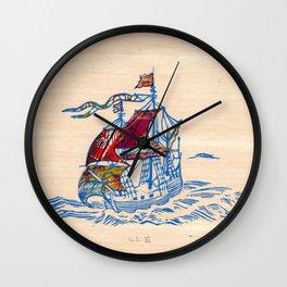 Sailing Ship XI Wall Clock