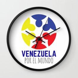 Venezuela por el mundo Wall Clock