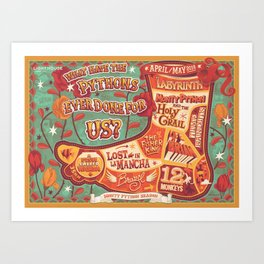 What have the Pythons ever done for us? Art Print