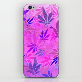 Pink and Purp by Wetpaint420 iPhone Skin