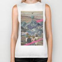 rocks Biker Tanks featuring Rocks by Sarah Eisenlohr