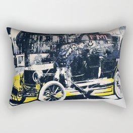 FML Taxi Rectangular Pillow
