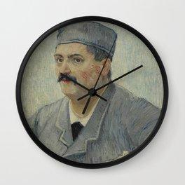 Portrait of Etienne-Lucien Martin Wall Clock