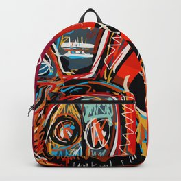 Dance to the life street art graffiti Backpack