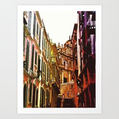 the little Macau from the LOVE ROAD Art Print