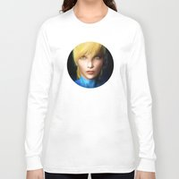 samus Long Sleeve T-shirts featuring Samus Aran by Joe Roberts
