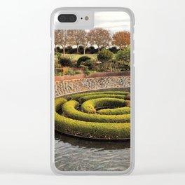 Bush Art Clear iPhone Case