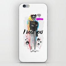 I Lost You iPhone & iPod Skin