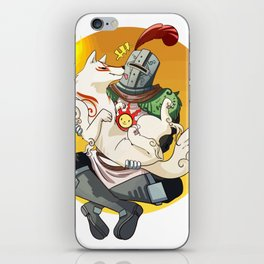 Sif and Solaire iPhone Skin