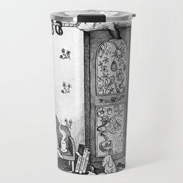 Unicorn house Travel Mug